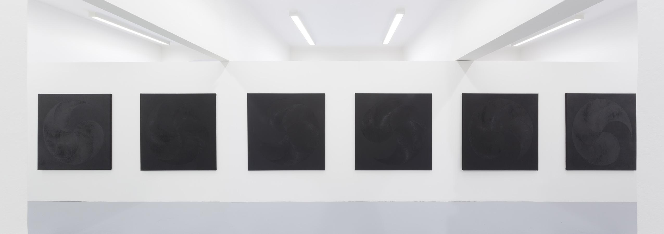 6x oil on canvas, 130 x 130