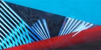 /acrylic, oil on canvas/100x50cm
