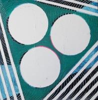 /acrylic oil on canvas/40x40cm